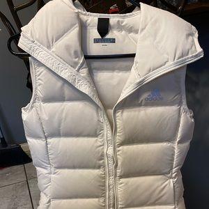 Adidas white vest